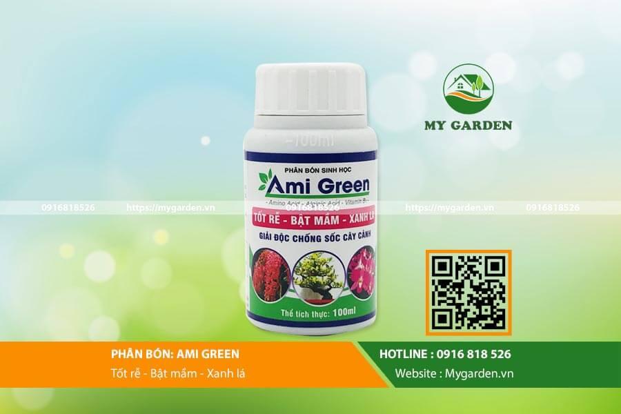 Chức năng phục hồi của phân bón Ami Green