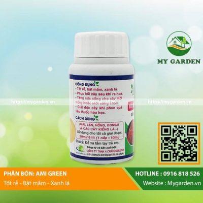 Chức năng giải độc của phân bón Ami Green