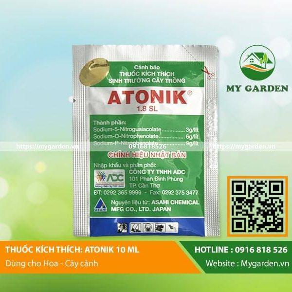 phân bón kích thích tăng trưởng Atonik nảy mầm và ra rễ