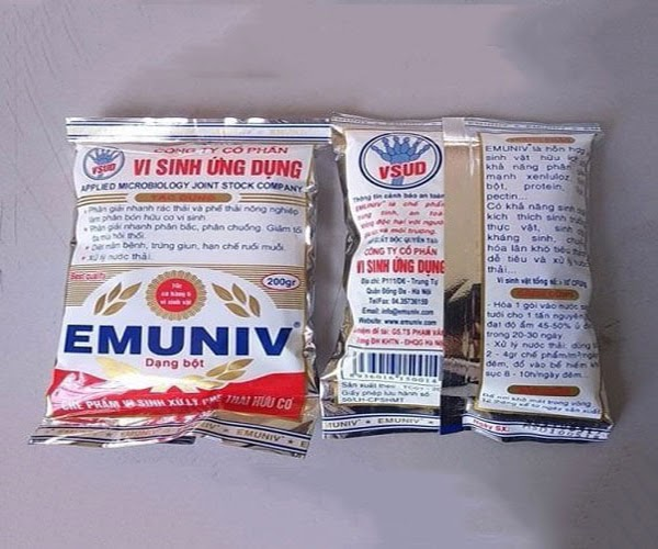 Chế phẩm sinh học EMUNIV