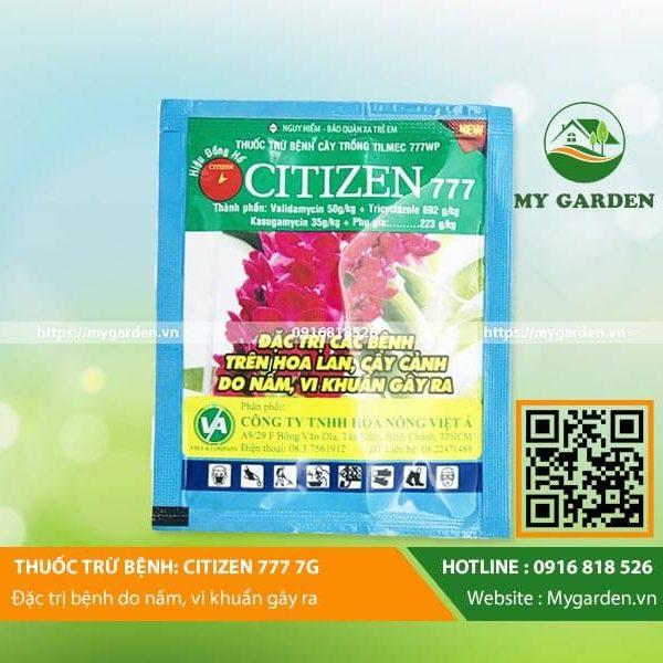 Thuốc trị nấm cho cây hoa lan Citizen 777