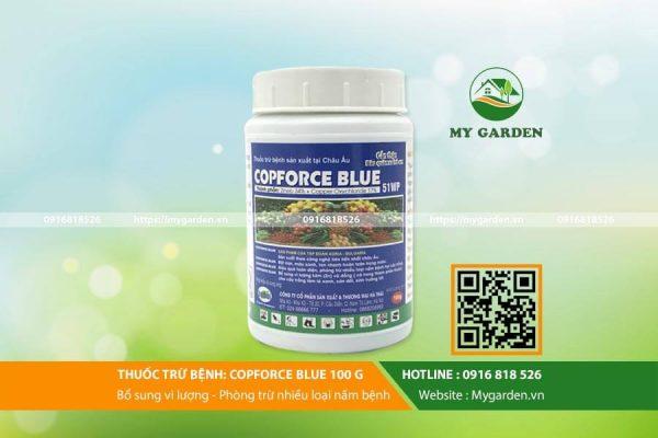 Copforce Blue 51wp đặc trị nấm bệnh cho hoa, cây cảnh
