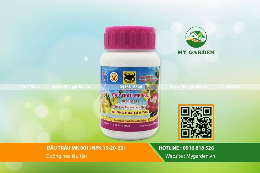 My Garden - Địa chỉ mua phân bón đầu trâu cho lan uy tín, chất lượng