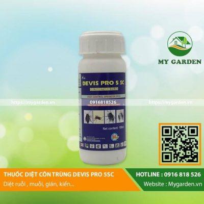 Thuốc diệt côn trùng Devis Pro 5SC