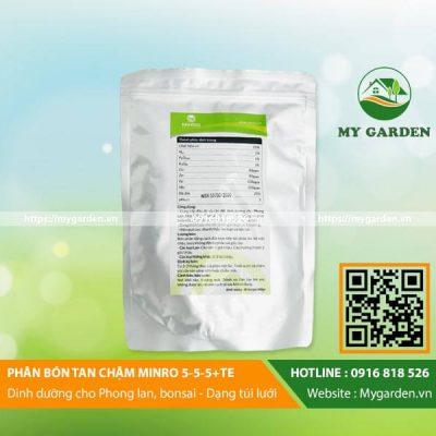 Công dụng và liều lượng sử dụng phân bón Minro 5-5-5