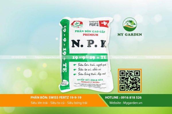 Phân bón NPK giúp tăng năng suất cây trồng hiệu quả