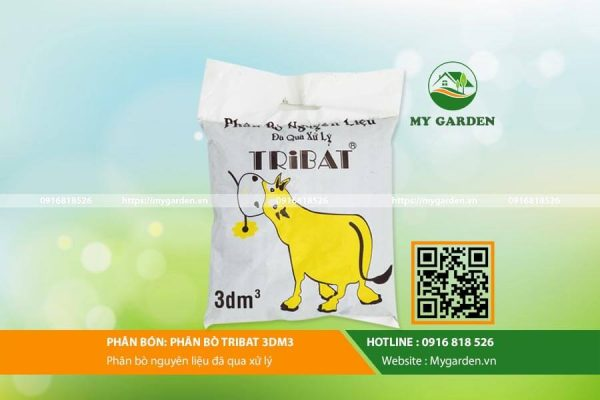 Phân bò tribat 3dm3 - Sản phẩm hữu dụng trong nông nghiệp
