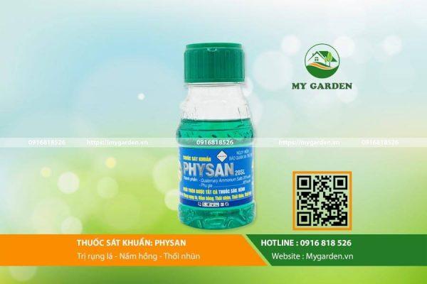 Thuốc Physan lọ 100ml trị vi khuẩn hoa lan