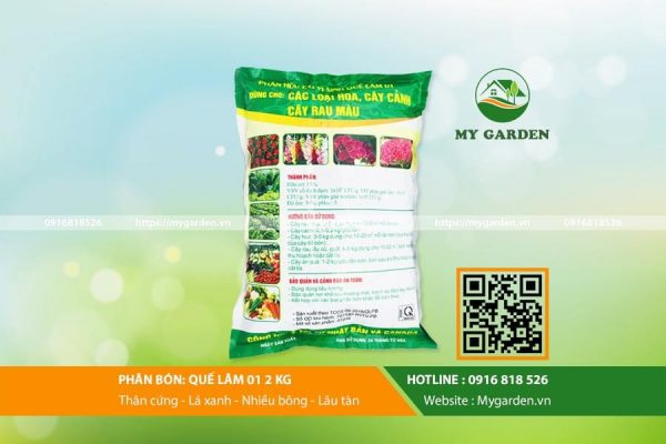 Phân bón Quế Lâm giúp tăng năng suất cây trồng
