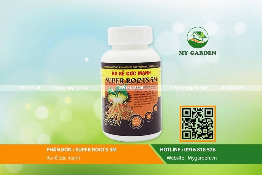 Thuốc kích rễ Super Roots 3M được đánh giá cao về hiệu quả