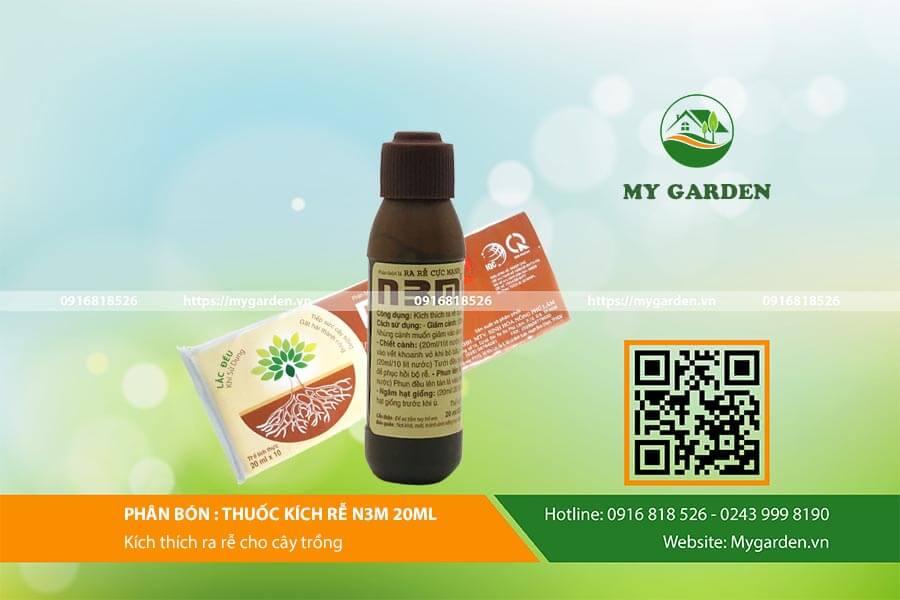 Công dụng của thuốc kích rễ N3M