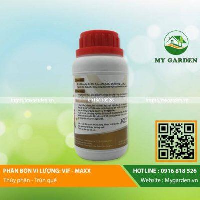 Công dụng của dịch trùn quế cơ Vif Maxx chai 250ml