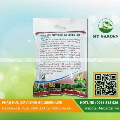 Công dụng của phân gà hữu cơ vi sinh Green Life