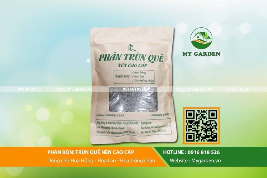 Trùn quế viên nén Organic Choice có rất nhiều công dụng cho cây trồng