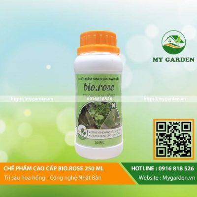 Chế phẩm sinh học Bio Rose chai 250ml trừ sâu bệnh hại cây