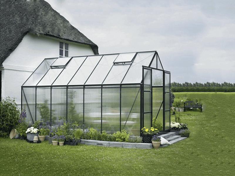 Mô hình trồng rau sạch trong nhà kính mini đơn giản