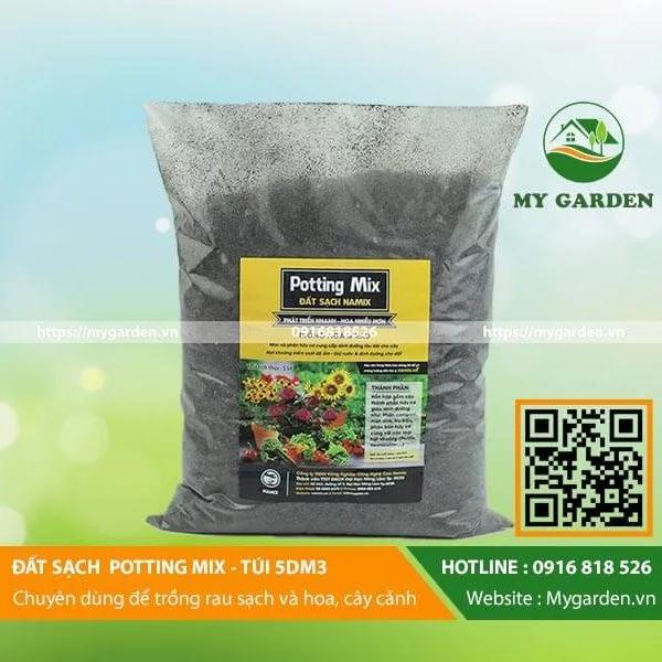 Đất chuyên dụng cho rau sạch