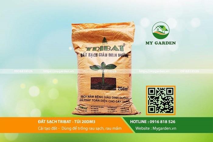 Đất trồng rau sạch tribat