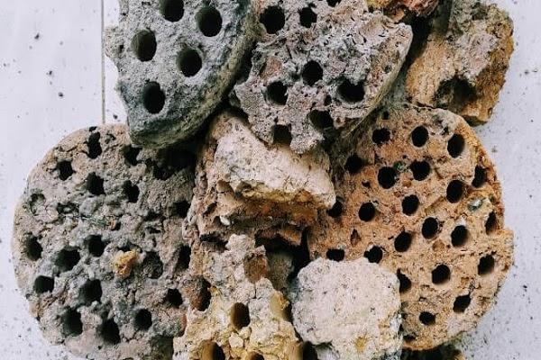 Xỉ than tổ ong là nguyên liệu rất dễ tìm kiếm