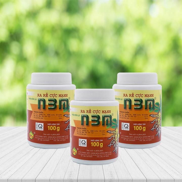 Phân bón N3M là sản phẩm kích thích tăng trưởng của các loại cây