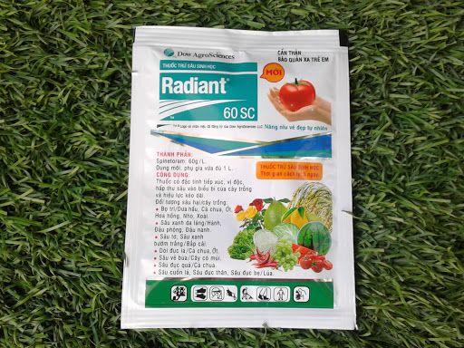 Thuốc trừ sâu sinh học radiant