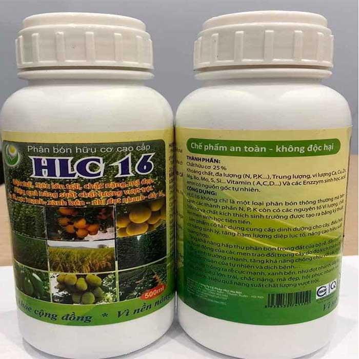chế phẩm sinh học HLC