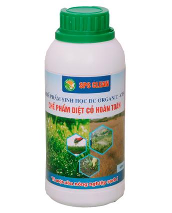 Thuốc diệt cỏ không hại cây trồng DC Organic CT5