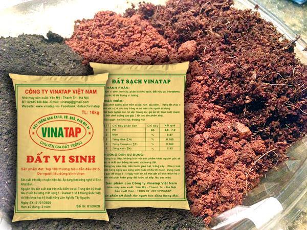 Vinatap là loại đất trồng an toàn và giàu dinh dưỡng cho cây