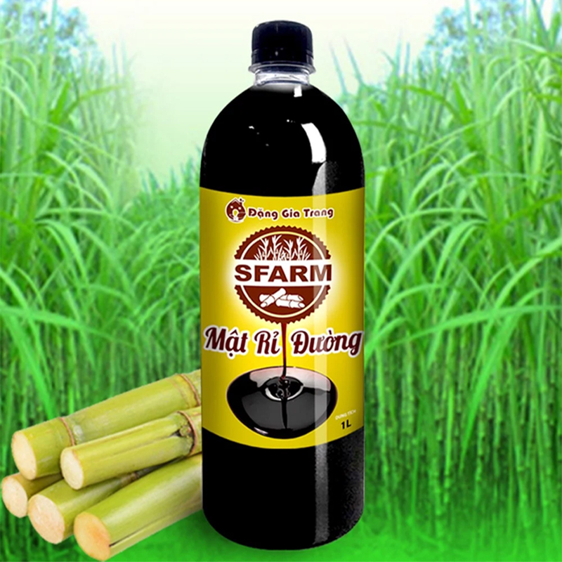 Mật rỉ đường là sản phẩm phụ của ngành mía đường