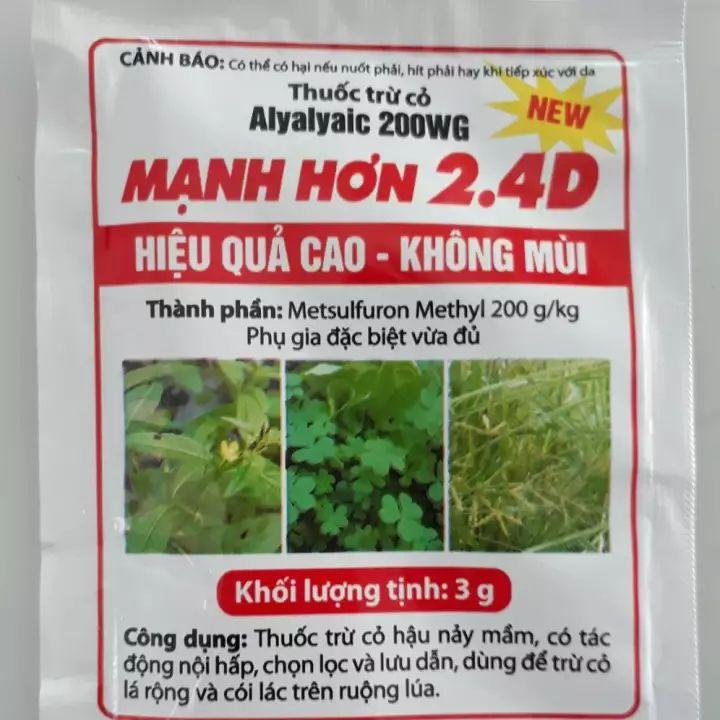 Một số loại thuốc diệt cỏ không mùi