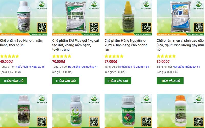 My Garden chuyên cung cấp các sản phẩm thuốc sâu uy tín tại Hà Nội