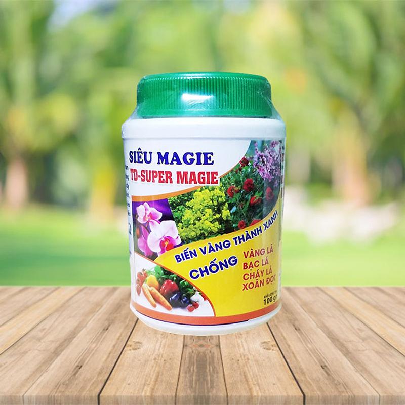 Phân bón dinh dưỡng Magie