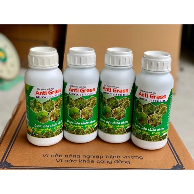 Chế phẩm thuốc diệt cỏ sinh học Anti Grass