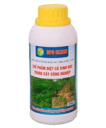 DC Organic CT5 diệt cỏ trong cây công nghiệp